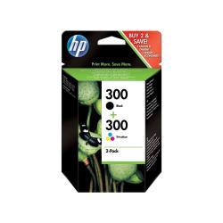 HP INC TINTAS NEGRA/TRICOLOR HP 300