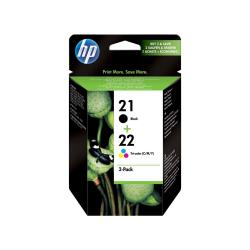HP INC PACK TINTAS HP 21/22 BLISTER