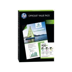 HP INC PACK TINTA 920XL PAPEL 50HH A4