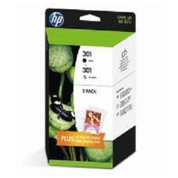 HP INC PACK HP 301 NEGRO Y TRICOLOR BL