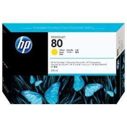 HP INC TINTA AMARILLA HP 80