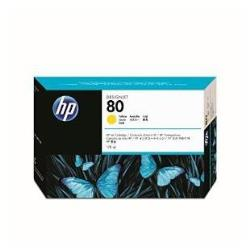HP INC TINTA AMARILLA HP 80