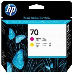 HP INC CABEZAL MAGENTA Y AMARILLO HP 70