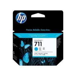 HP INC TINTA CIAN HP 711 PACK 3