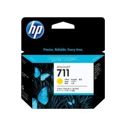 HP INC TINTA AMARILLA HP 711 PACK 3