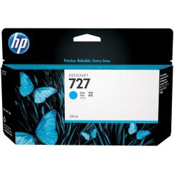 HP INC TINTA CIAN HP 727 130 ML