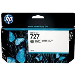 HP INC TINTA NEGRO MATE HP 727 130 ML