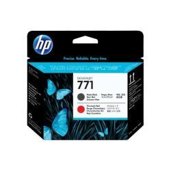 HP INC CABEZAL NEGRO MATE/ROJO CRO HP 771