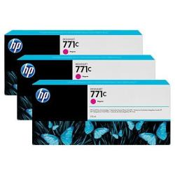 HP INC TINTA MAGENTA HP 771C 775 ML PK 3