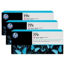 HP INC TINTA MAGENTA CL HP 771C 775 ML PK3