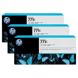 HP INC TINTA GRIS CLARO HP 771C 775 ML PK3