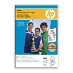 HP INC PAPEL FOTO SAT AVANZ 100H 10X15CM