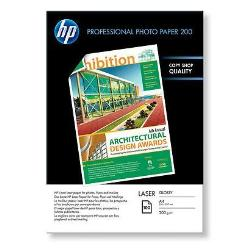 HP INC PAPEL FOTO SATIN IMPR LASER 100H A4