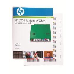 HP ENTERPRISE ETIQUETAS LTO ULTR 4 WORM 1 6TB HP