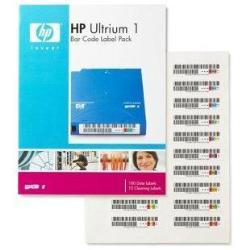 HP ENTERPRISE ETIQUETAS COD BARRAS ULTRIUM LTO 1