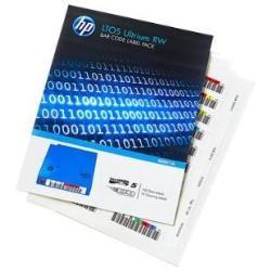 HP ENTERPRISE ETIQUET COD BARRAS ULTRIUM LTO 5 RW