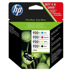 HP INC PACK 920XL NEGRO Y TRICOLOR