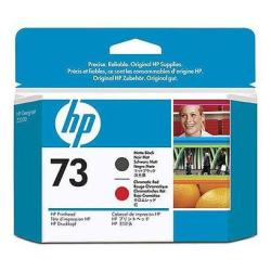HP INC CABEZAL ROJO CR Y NEGRO MATE HP 73