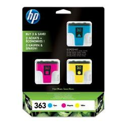 HP INC TINTA TRICOLOR HP 363 PK 3 BLISTER