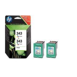 HP INC TINTA TRICOLOR HP 343 PK 2