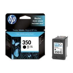 HP 350 - negro - original - cartucho de tinta