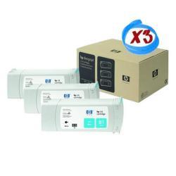 HP INC TINTA CIAN HP 81 PK3