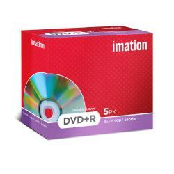 IMATION DVD R 8.5 8X D.CAPA JEWELL 5