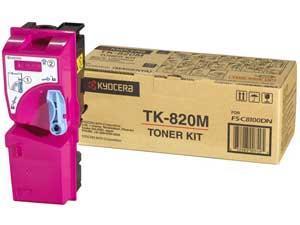 KYOCERA TONER MAGENTA TK-820M/FSC8100DN