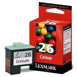LEXMARK TINTA COLOR N 26 AC BL