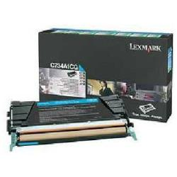 LEXMARK TONER CIAN RETORNABLE C73X/X73X