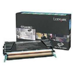 LEXMARK TONER NEGRO RETORNABLE C73X/X73X