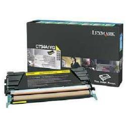 LEXMARK TONER AMARILLO RETORNABLE C73X/X73X
