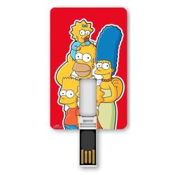SILVER HT ICONICCARD 8GB - SIMPSONS FAMILY