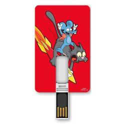 SILVER HT ICONICCARD 8GB - SIMPSONS FRIENDS