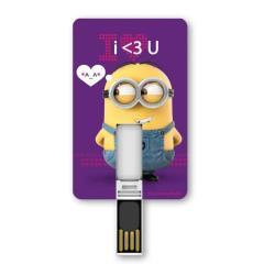 SILVER HT ICONICCARD 8GB - MINION LOVE