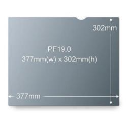 """Filtro de privacidad de 3M para monitor estándar de 19"""" - filtro de confidencialidad de pantalla - 19"""""""