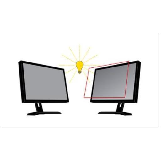 """Filtro antirreflejos de 3M para monitor de escritorio con pantalla panorámica de 24"""" - filtro antirreflejos de pantalla - 24 pulgadas de ancho"""