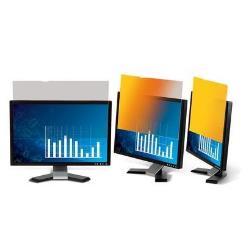 """Filtro de privacidad Gold de 3M para monitor de escritorio con pantalla panorámica de 19"""" (16:10) - filtro de confidencialidad de pantalla - 19 pulgad"""