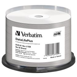 VERBATIM DVD-R 16X ADVANCED AZO 4.7GB 16X
