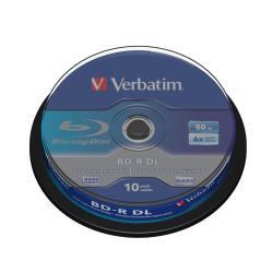Verbatim - BD-R DL x 10 - 50 GB - soportes de almacenamiento