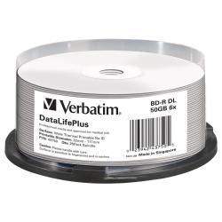 VERBATIM BD-R 6X DOUBLE LAYER 50GB  SPINDLE