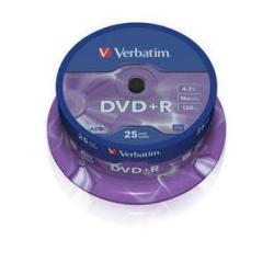 Verbatim DataLifePlus - DVD+R x 25 - 4.7 GB - soportes de almacenamiento