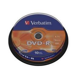 DVD-R 4.7 16X LATA 10 VERBATIM