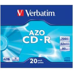 CDR 700 52X SLIM 20 VERBATIM C S