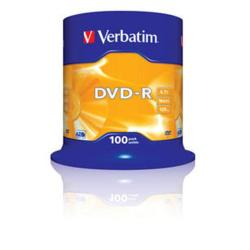 VERBATIM DVD-R 4.7 16X LATA 100 VERB