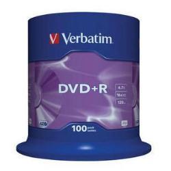 Verbatim - DVD+R x 100 - 4.7 GB - soportes de almacenamiento