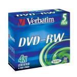 Verbatim DataLifePlus - DVD-RW x 5 - 4.7 GB - soportes de almacenamiento