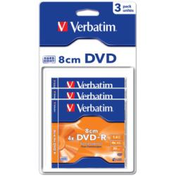 DVD-R 1.4 8CM JEWELL 3 VERBATIM