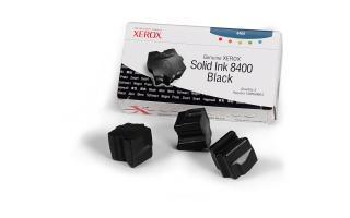 XEROX 3 COLORSTICK NEGRO PHASER 8400