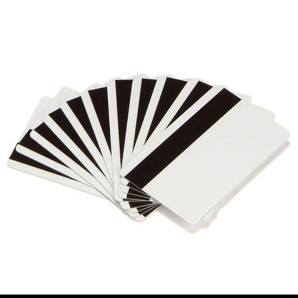 Zebra - tarjeta de PVC con cinta magnética de baja coercitividad - 500 tarjeta(s) - CR-80 Card (85.6 x 54 mm)